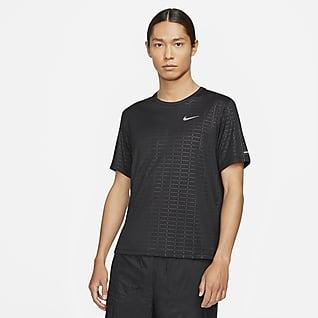 Nike Miler Run Division 男款短袖跑步上衣
