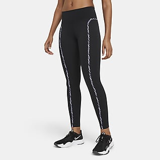 Nike One Luxe Icon Clash Leggings - Donna