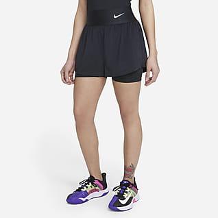 NikeCourt Advantage Pantalón corto de tenis - Mujer