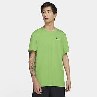 Nike Dri-FIT Superset Kısa Kollu Erkek Antrenman Üstü
