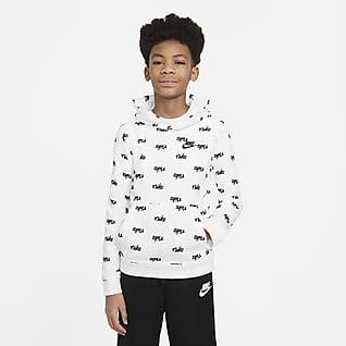 Nike Sportswear Hoodie met print voor jongens