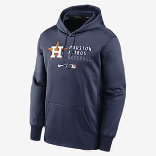 Nike Therma (MLB Houston Astros) Men's Pullover Hoodie