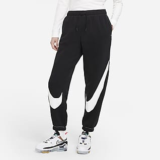 Nike Sportswear Swoosh Joggers i fleece til kvinder