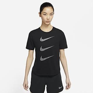 Nike Run Division เสื้อวิ่งแขนสั้นผู้หญิง