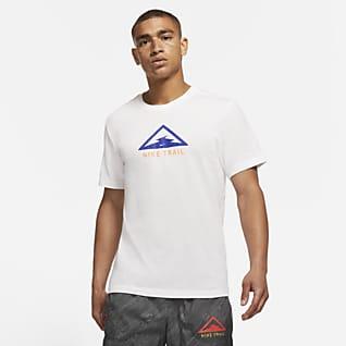 Nike Dri-FIT Trail Arazi Tipi Erkek Koşu Tişörtü