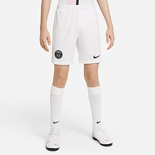 Paris Saint-Germain 2021/22 Stadium Away Older Kids' Nike Dri-FIT Football Shorts