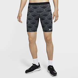 Nike Dri-FIT ADV Team Kenya AeroSwift Мужские тайтсы длиной 1/2 для забегов