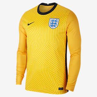 Stadium Goalkeeper Inglaterra 2020 Camisola de futebol para homem
