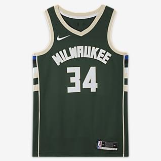 Giannis Antetokounmpo Bucks Icon Edition 2020 Camiseta Nike NBA Swingman