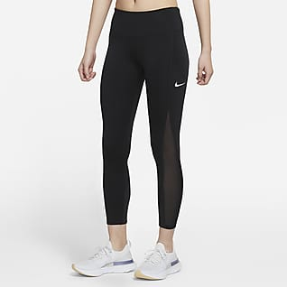 Nike Epic Luxe Cool 7/8 女子中腰跑步紧身裤