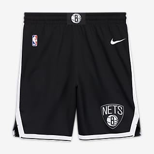 Brooklyn Nets Icon Edition Nike NBA Swingman-shorts til herre