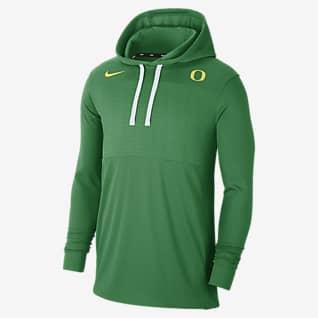 Nike College (Oregon) Men's Lightweight Pullover Hoodie