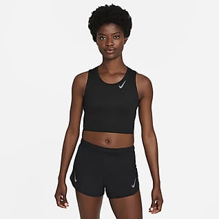 Nike Dri-FIT Race Women's Cropped Running Tank
