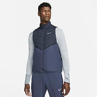 Nike Therma-FIT Repel Ανδρικό αμάνικο τζάκετ για τρέξιμο με συνθετικό γέμισμα