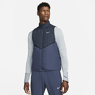 Nike Therma-FIT Repel Veste de running sans manches à garnissage synthétique pour Homme