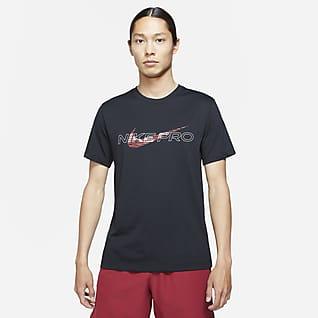 ナイキ プロ Dri-FIT メンズ グラフィック Tシャツ
