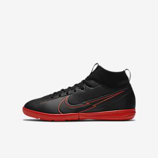 Nike Jr. Mercurial Superfly 7 Academy IC Sapatilhas de futsal para criança