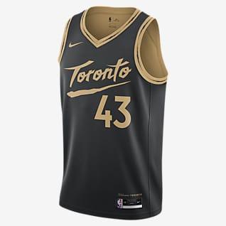 Toronto Raptors City Edition Samarreta Nike NBA Swingman