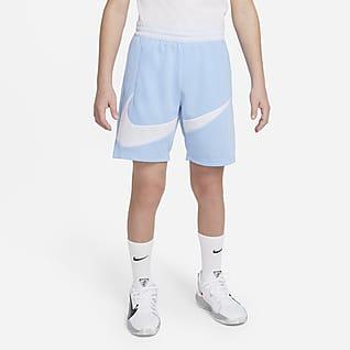 Nike Dri-FIT Shorts de básquetbol para niños talla grande