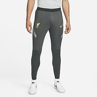 Liverpool FC Strike Męskie dzianinowe spodnie piłkarskie Nike Dri-FIT
