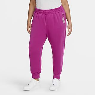 Nike Air Pantalones de tejido Fleece 7/8 para mujer (talla grande)
