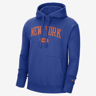 New York Knicks Heritage Men's Nike NBA Pullover Hoodie