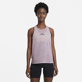 Nike City Sleek Trail Running-Tanktop für Damen
