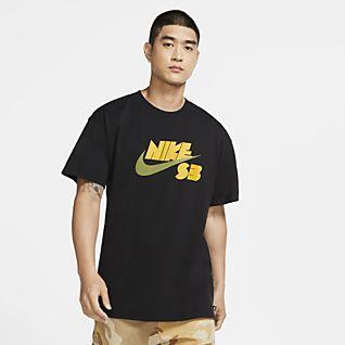 Nike SB Skateshirt met seizoensstijl en logo voor heren