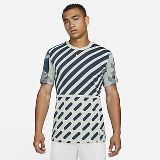 Serena Design Crew Tennis-t-shirt med tryck