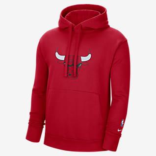 Chicago Bulls Essential Men's Nike NBA Fleece Pullover Hoodie