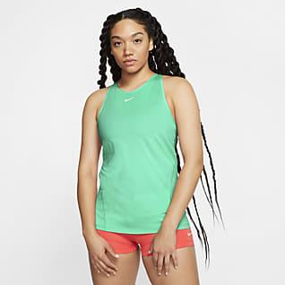 Nike Pro Γυναικείο φανελάκι από διχτυωτό υλικό