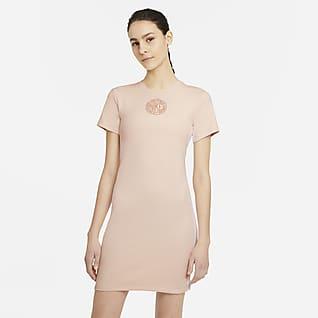 Nike Sportswear Femme Kortärmad klänning för kvinnor