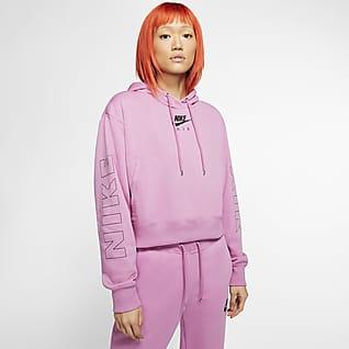 Nike Air Sweat à capuche en tissu Fleece pour Femme