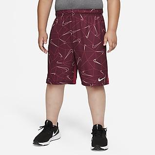 Nike Dri-FIT Big Kids' (Boys') Printed Training Shorts (Extended Size)