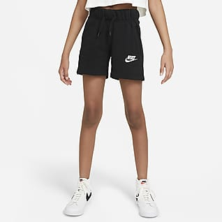 Nike Sportswear Club Shorts de French Terry para niña talla grande