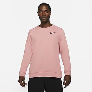 Nike Dri-FIT Træningscrewtrøje til mænd