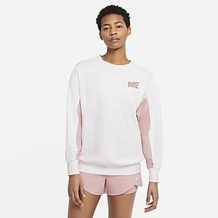 Nike Dri-FIT Get Fit Women's Fleece Graphic Training Crew