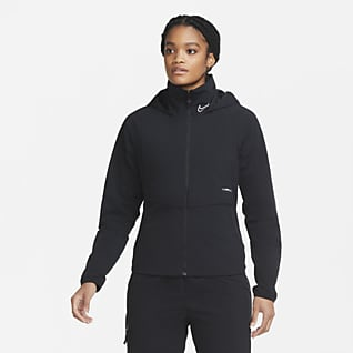Nike F.C. AWF Chamarra de fútbol para mujer