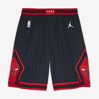 Chicago Bulls Statement Edition Short Jordan NBA Swingman pour Garçon plus âgé