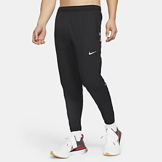 Nike Essential Run Division กางเกงวิ่งขายาวผู้ชายแบบทอ