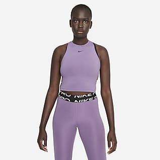 Nike Pro Dri-FIT Camiseta de tirantes corta estampada para mujer