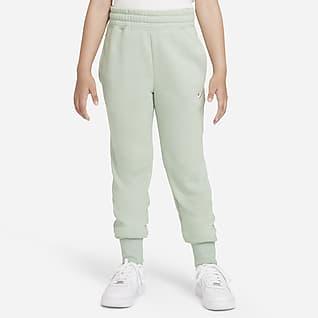 Nike Sportswear Club Mønstret bukse til store barn (jente)