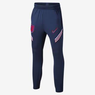 England Strike Pantalones de fútbol para niños talla grande
