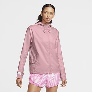 Nike Essential løpejakke til dame med hel glidelås