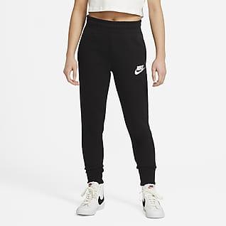 Nike Sportswear Club Frottébukse til store barn (jente)