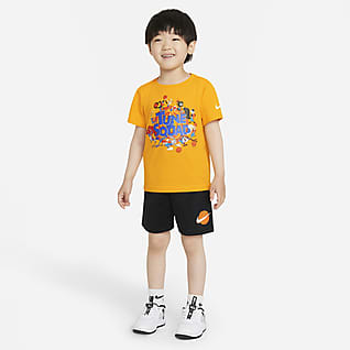 Nike x Space Jam: A New Legacy Toddler T-Shirt and Shorts Set
