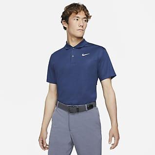 Nike Dri-FIT Victory เสื้อโปโลกอล์ฟพิมพ์ลายผู้ชาย
