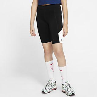 Nike Trophy Träningscykelshorts för ungdom (tjejer)