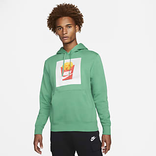 Nike Sportswear Мужская худи с начесом на изнаночной стороне