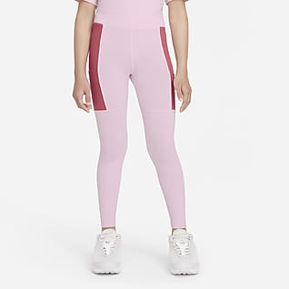 Nike Sportswear Heritage Leggins para niña talla grande